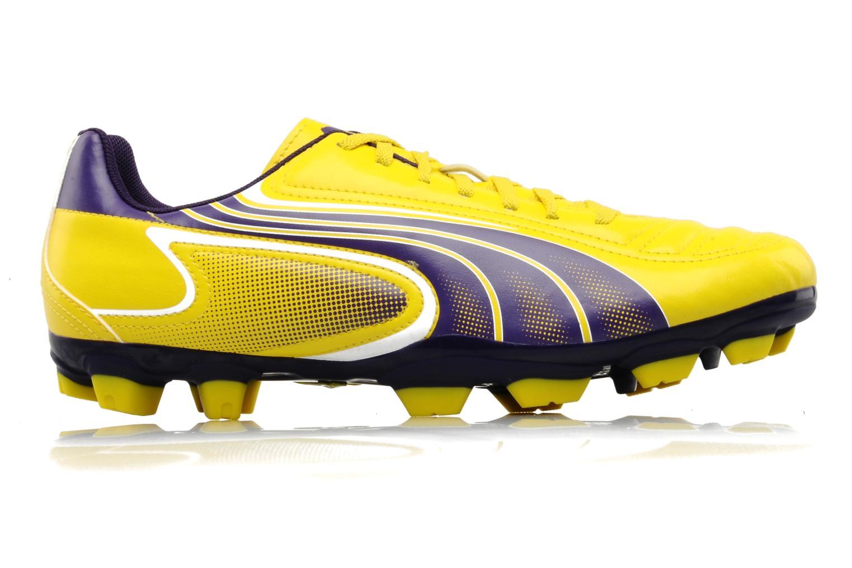 Sportschoenen Puma v6-11 iFG Geel achterkant