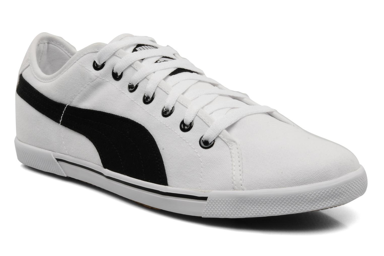 Benecio canvas White black