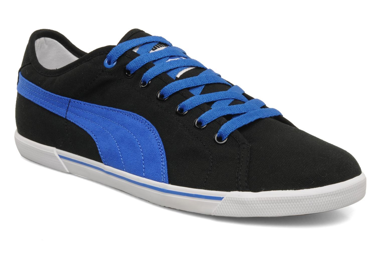 Chaussures de sport Puma Benecio canvas Noir vue détail/paire