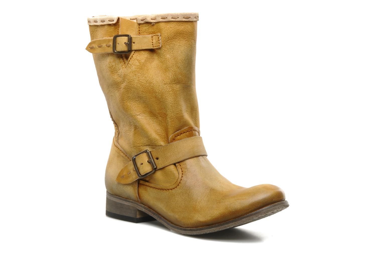 Boots en enkellaarsjes Koah Tiffany Bruin detail