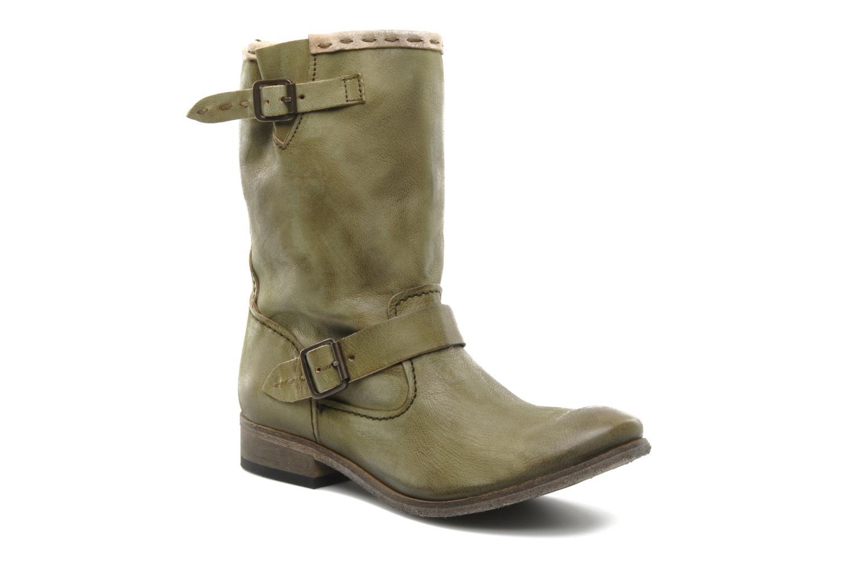 Boots en enkellaarsjes Koah Tiffany Groen detail
