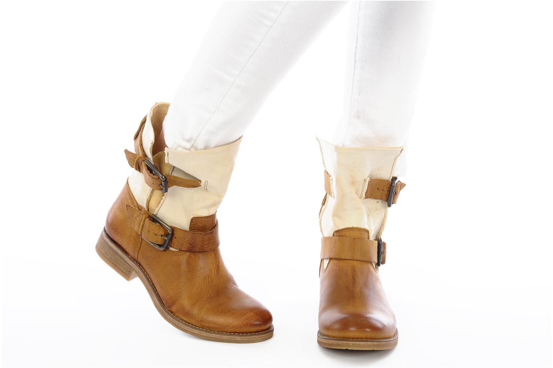 Stiefeletten & Boots Koah Daisy braun ansicht von unten / tasche getragen