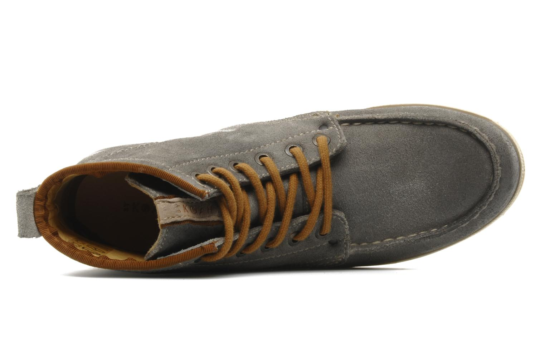 Zapatos con cordones Koah Gabe Gris vista lateral izquierda