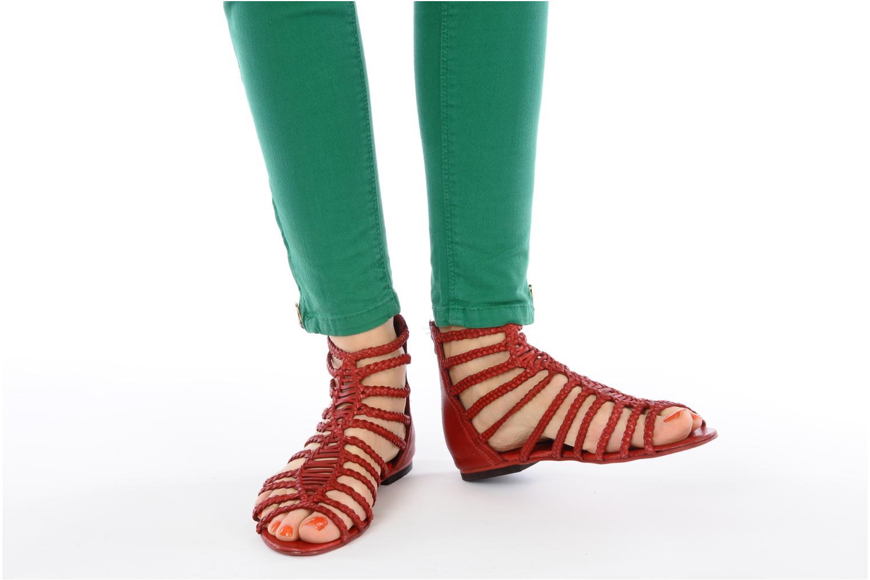 Sandali e scarpe aperte Koah Rihanna Rosso immagine dal basso