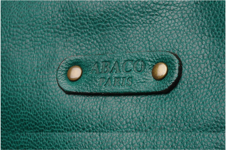 Bolsos de mano Abaco Puma Verde vista lateral izquierda