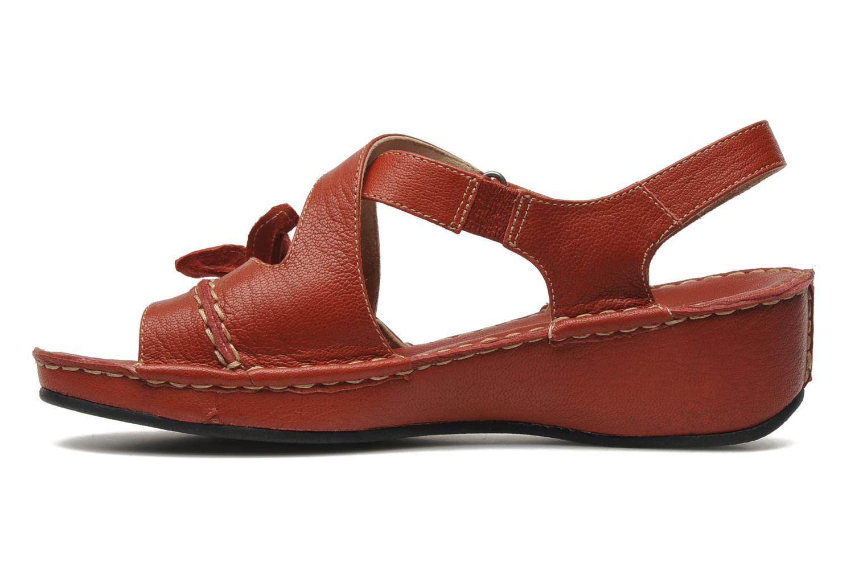 Sandales et nu-pieds TBS Boreal Rouge vue face
