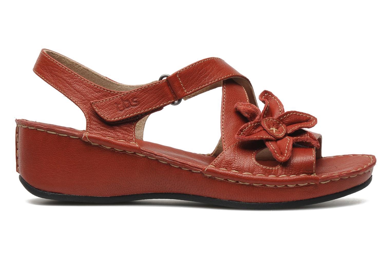 Sandales et nu-pieds TBS Boreal Rouge vue derrière