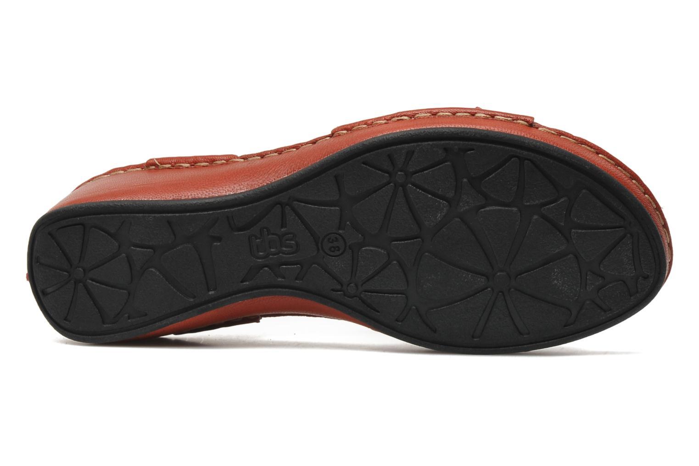 Sandalen TBS Boreal Rood boven
