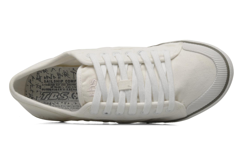 Sneaker TBS Violay weiß ansicht von links