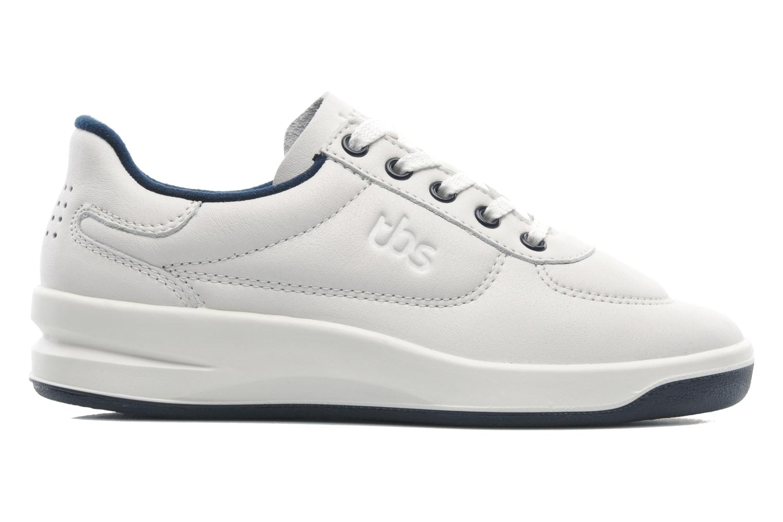 Sneakers TBS Easy Walk Brandy Wit achterkant