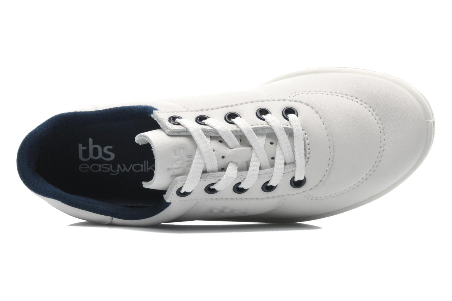 Baskets TBS Easy Walk Brandy Blanc vue gauche
