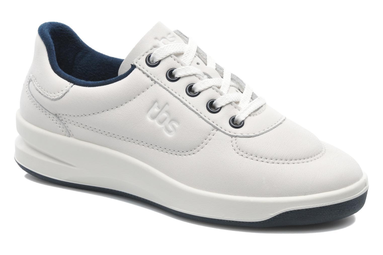 Sneakers TBS Easy Walk Brandy Wit detail