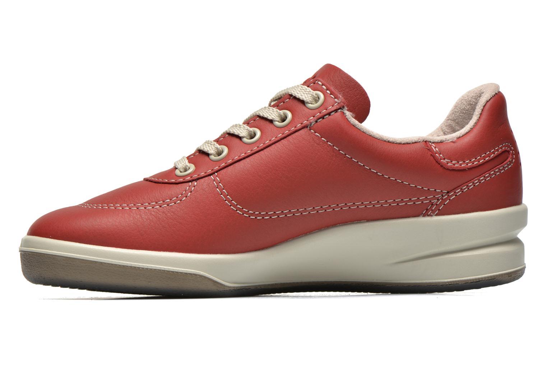 Sneakers TBS Easy Walk Brandy Bordeaux voorkant
