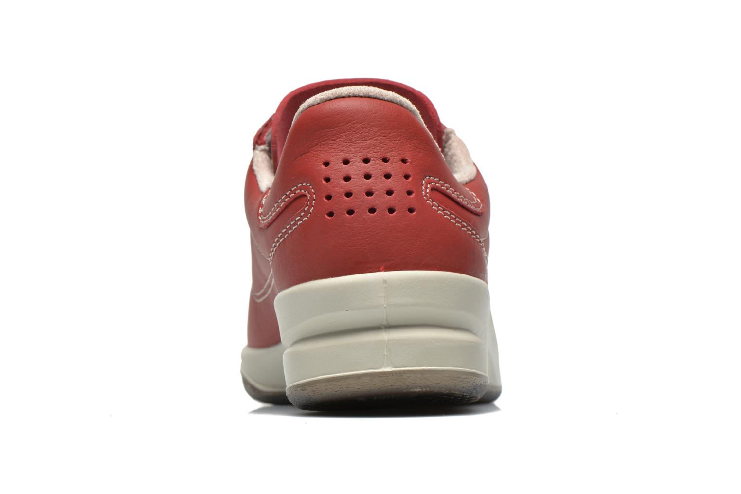Trainers TBS Easy Walk Brandy Burgundy view from the right