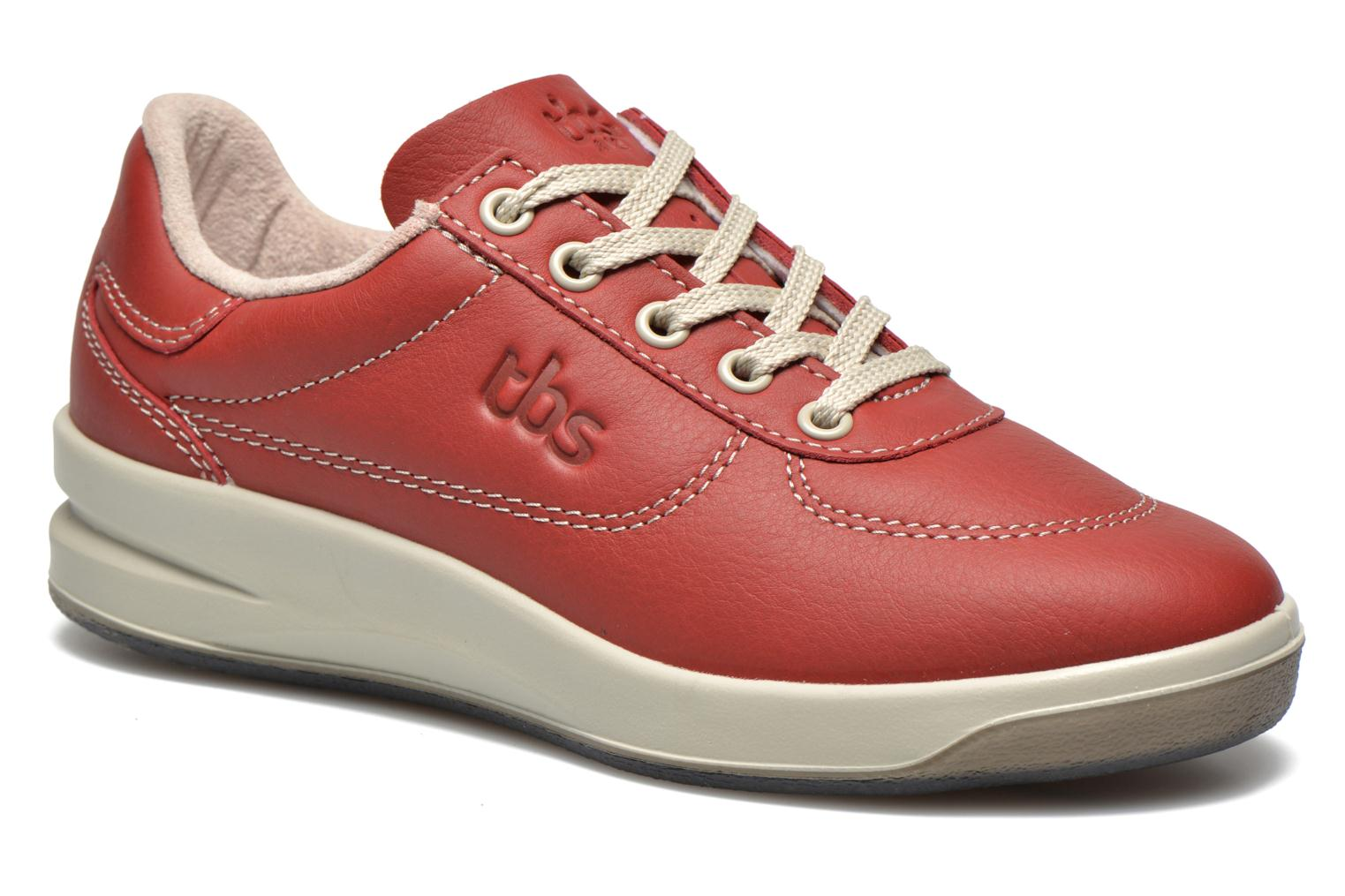 Trainers TBS Easy Walk Brandy Burgundy detailed view/ Pair view