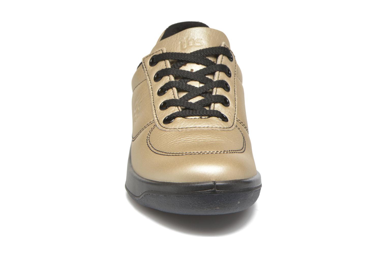Sneakers TBS Easy Walk Brandy Bronze och Guld bild av skorna på