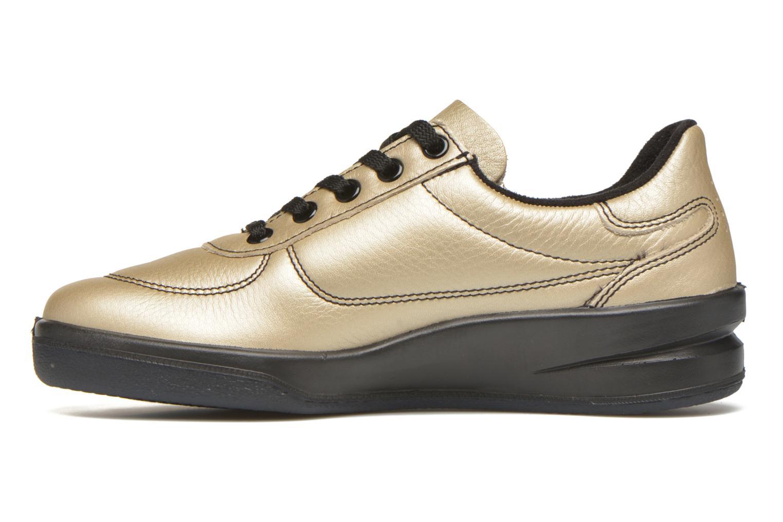 Sneakers TBS Easy Walk Brandy Bronze och Guld bild från framsidan