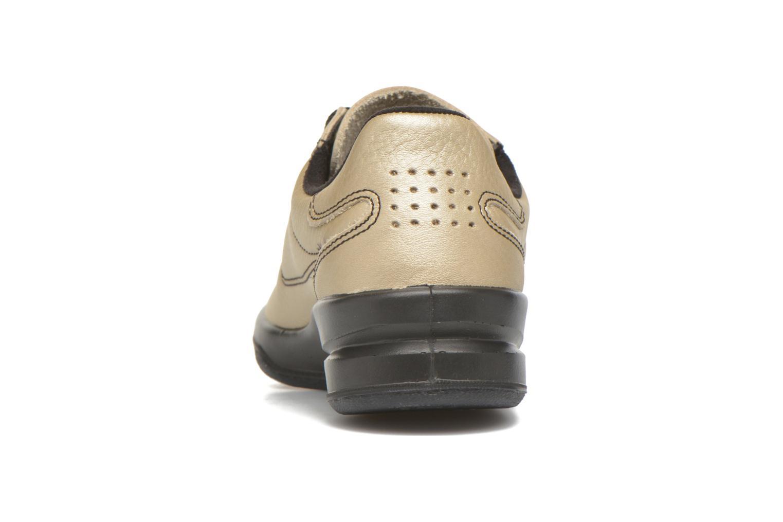 Sneakers TBS Easy Walk Brandy Bronze och Guld Bild från höger sidan