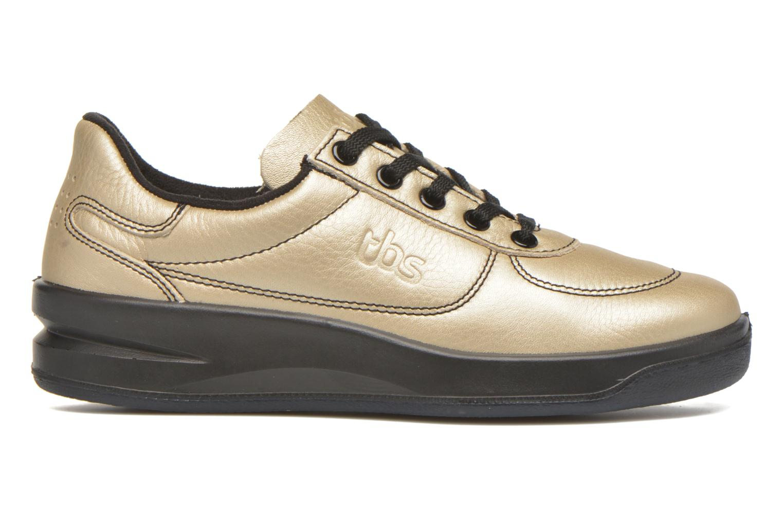 Sneakers TBS Easy Walk Brandy Guld og bronze se bagfra