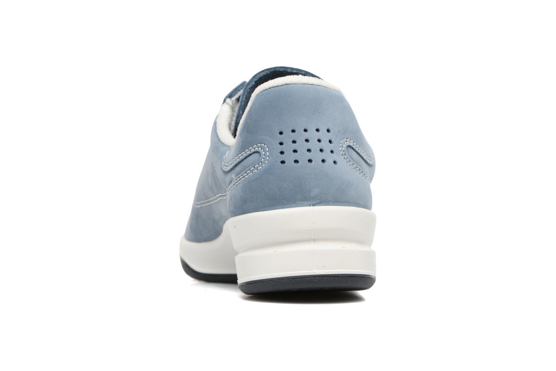 Baskets TBS Easy Walk Brandy Bleu vue droite