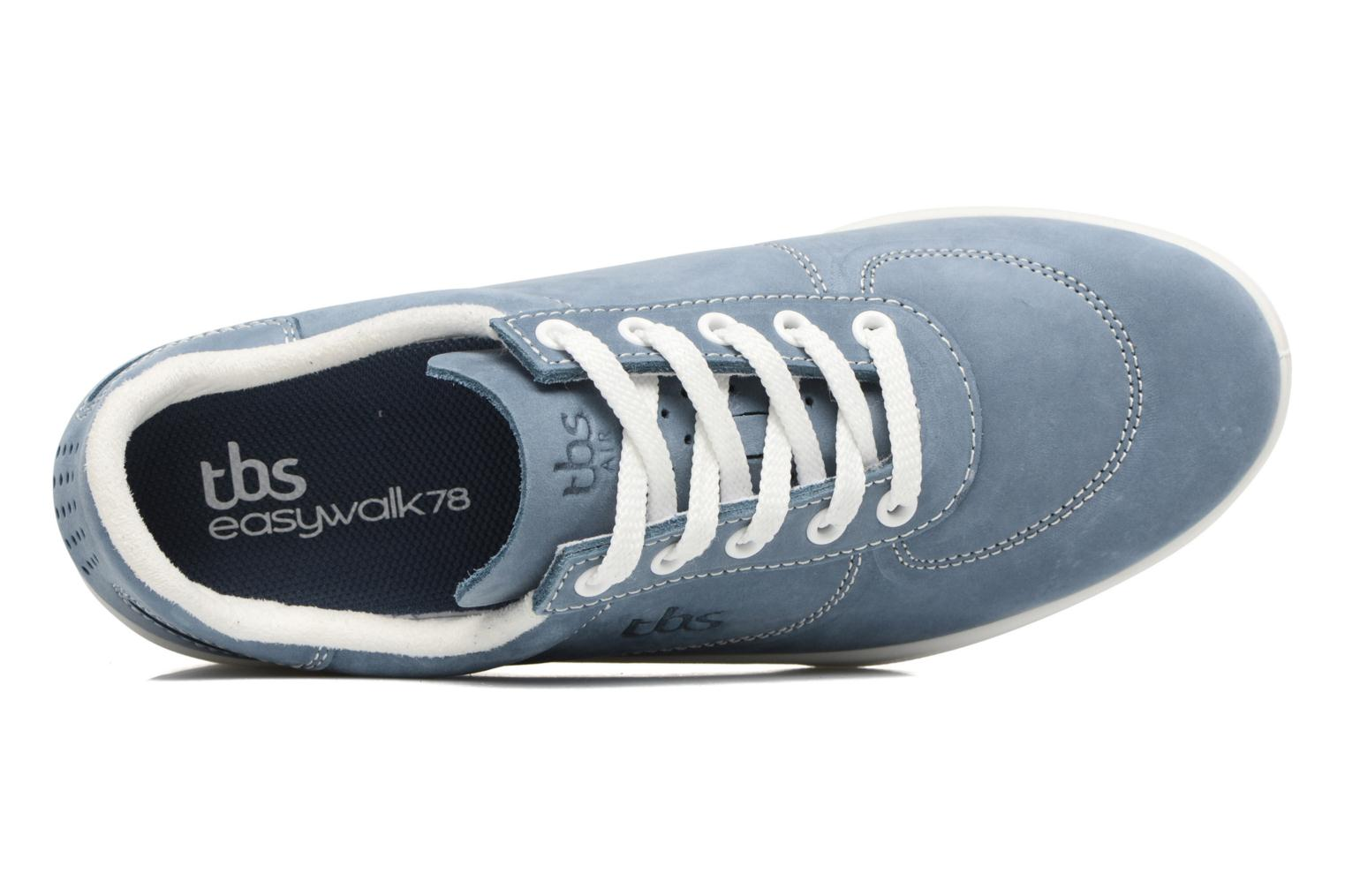Trainers TBS Easy Walk Brandy Blue view from the left