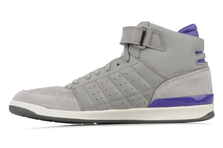 Sneakers Le Coq Sportif Diamond Lea/Satin Grigio immagine frontale