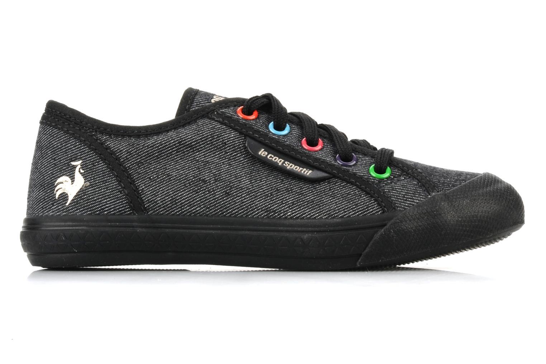 Sneakers Le Coq Sportif Deauville Plus Denim Rainbow Ps Nero immagine posteriore