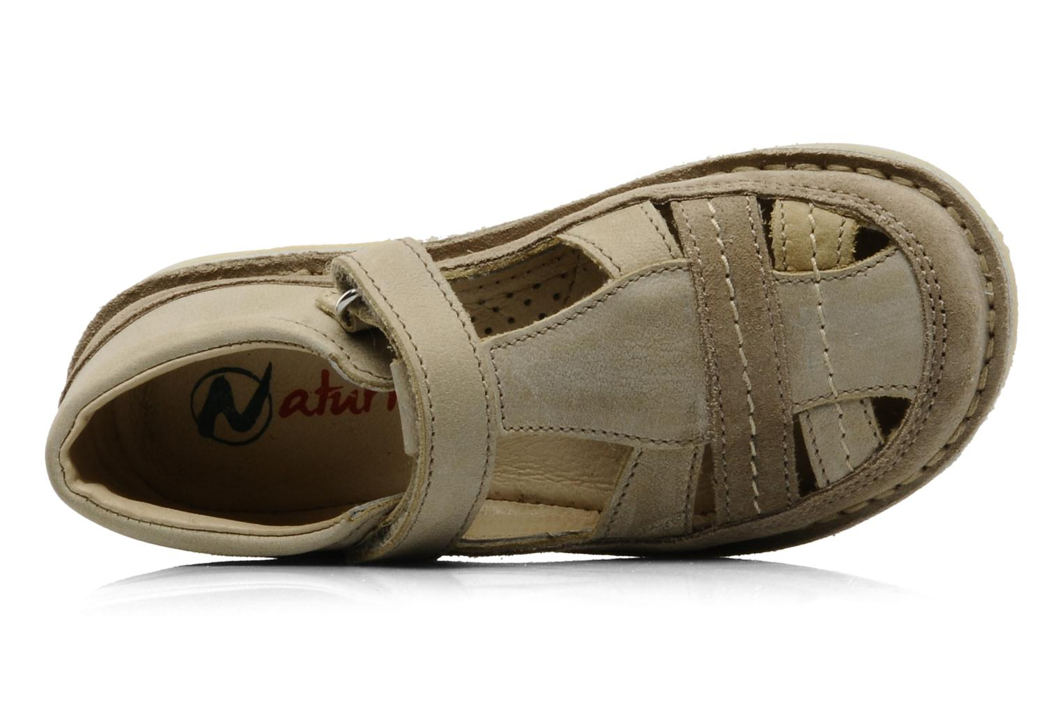Sandals Naturino Gloria Beige view from the left