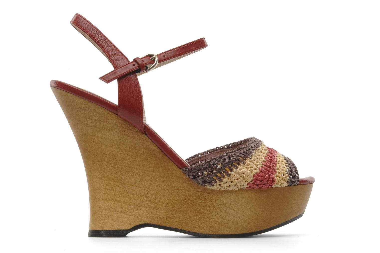 Sandales et nu-pieds L.K. Bennett MAC Multicolore vue derrière