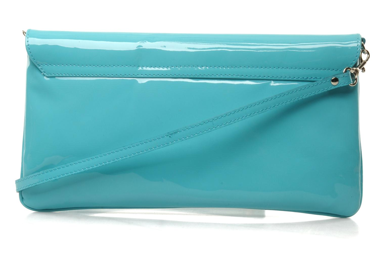 Mini Bags L.K. Bennett LEOLA blau ansicht von vorne