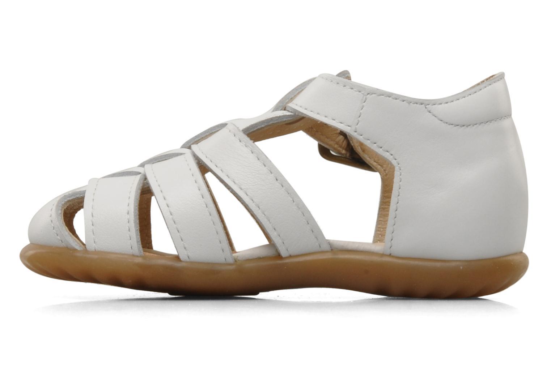 Sandales et nu-pieds PèPè Bongo Blanc vue face