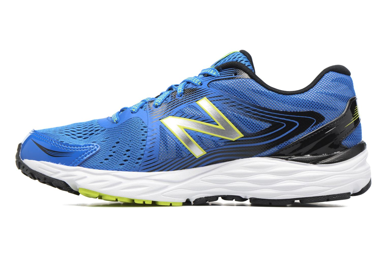 Chaussures de sport New Balance M680 Bleu vue face
