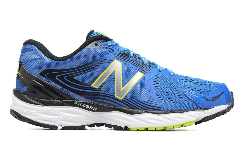 Chaussures de sport New Balance M680 Bleu vue derrière