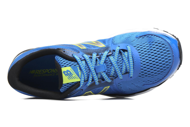 Chaussures de sport New Balance M680 Bleu vue gauche