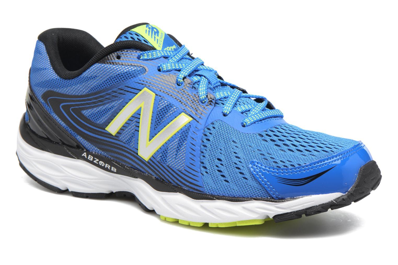 Chaussures de sport New Balance M680 Bleu vue détail/paire