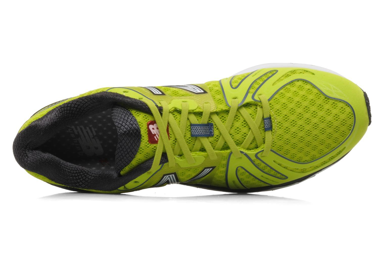 Chaussures de sport New Balance M890 Jaune vue gauche
