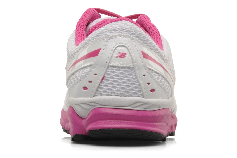 Chaussures de sport New Balance W690 Blanc vue droite