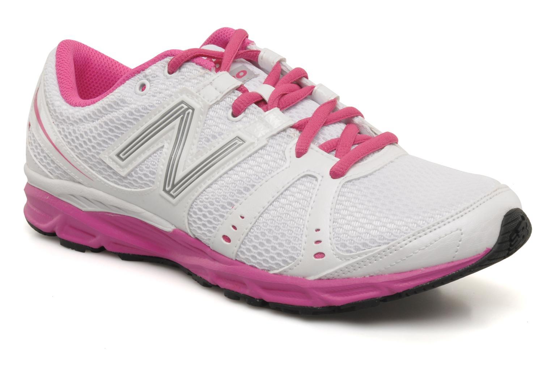Chaussures de sport New Balance W690 Blanc vue détail/paire