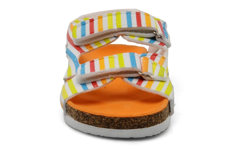 Sandales et nu-pieds Little Marcel Clown Multicolore vue portées chaussures