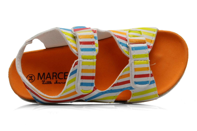Sandales et nu-pieds Little Marcel Clown Multicolore vue gauche