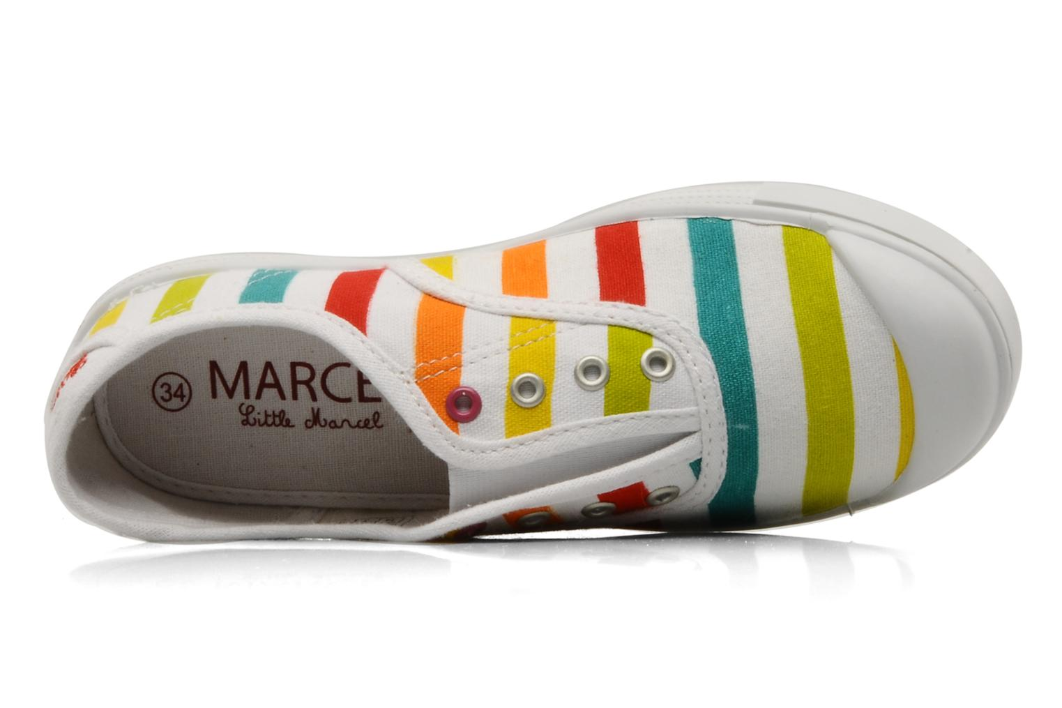 Trainers Little Marcel Benistic Print Multicolor view from the left