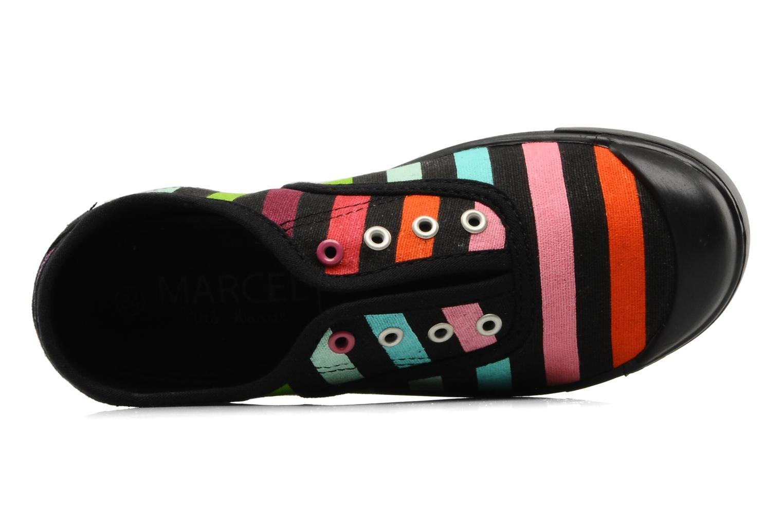 Sneaker Little Marcel Benistic Print mehrfarbig ansicht von links