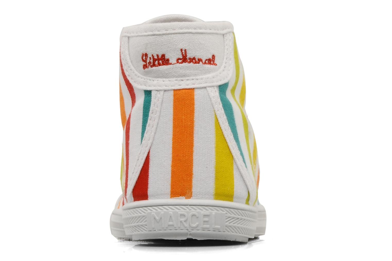 Sneaker Little Marcel Benikup Print mehrfarbig ansicht von rechts