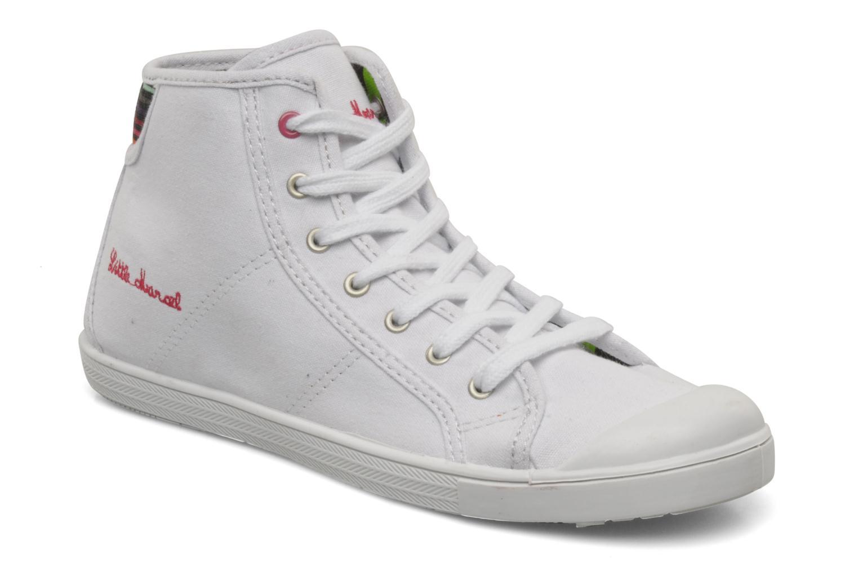 Sneaker Little Marcel Benilace Up Uni weiß detaillierte ansicht/modell