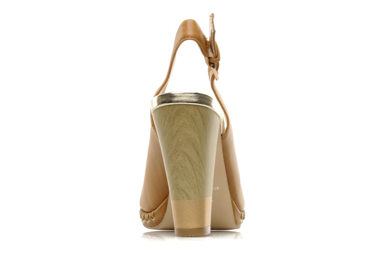 Sandalen Chocolate Schubar Celeste beige ansicht von rechts