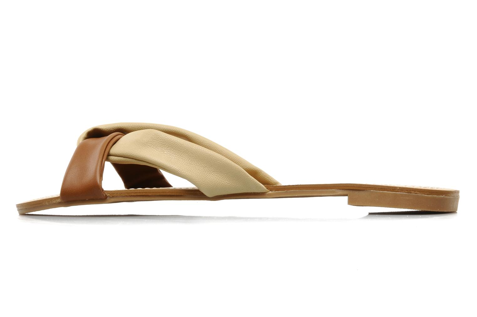 Mules & clogs Chocolate Schubar Abby Beige front view