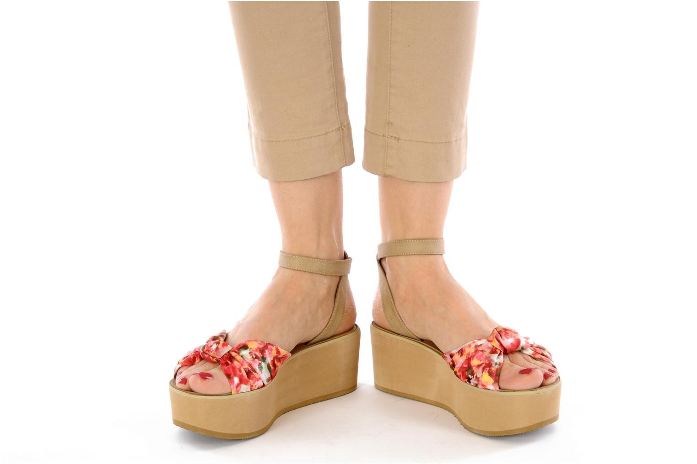 Sandales et nu-pieds Chocolate Schubar Bambi Rose vue bas / vue portée sac