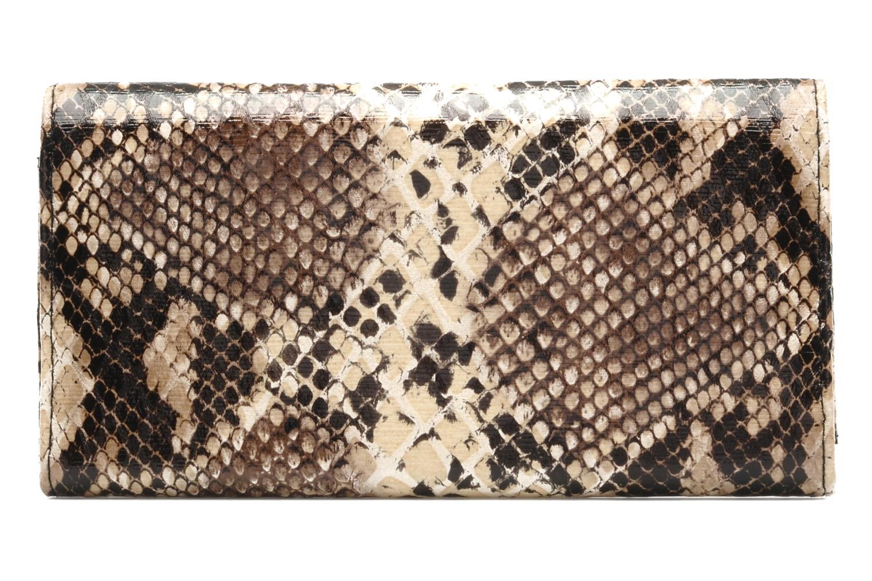 Pelletteria Friis & company Hot Snake Wallet Marrone immagine frontale