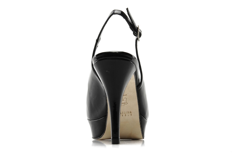 Sandales et nu-pieds Stuart Weitzman Nyon Noir vue droite