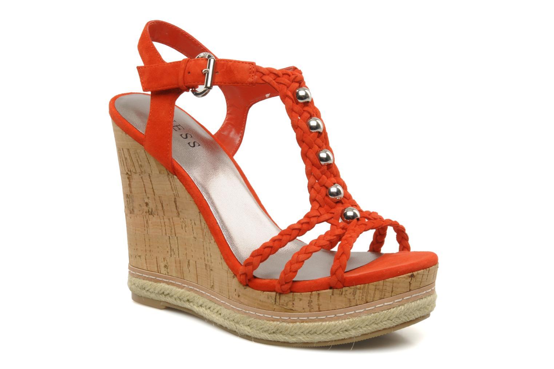 Sandales et nu-pieds Guess Reign Orange vue détail/paire
